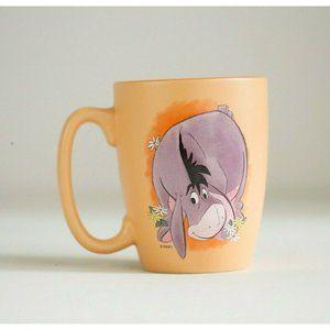 Disney Eeyore Peach Purple Graphic Coffee Mug